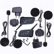 2 Comunicador Capacete Moto Bluetooth 1200 Mts Frete Gratis