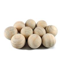 Bolas De Cedro Desumidificador Anti-mofo Anti-traça Com 20