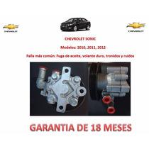 Bomba Licuadora P/caja Direccion Chevrolet Sonic 2012