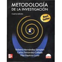 Sampieri Roberto - Metodologia De La Investigacion - Libro