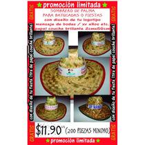 Sombrero Personalizado Para Tu Fiesta $11.90