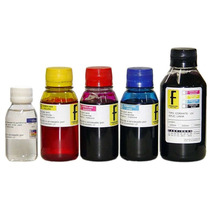 Kit Recarga De Cartucho Bulk Ink Para Impressoras Hp Brother