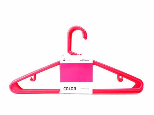 Perchas Colores 80 Unidades Oferta Linea Color - $ 690,00 en Mercado ...