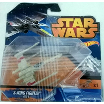 Hot Wheels Star Wars X-wing X-wing Fighter Red 5 Nuevo Sella