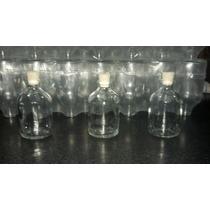 Envase Frasco Vidrio 50cc,p/ Difusor C/corcho Las 100u..