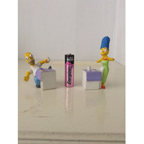Los Simpsons Homero Y Marge Simpson Sonrics