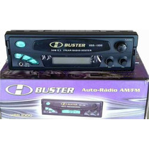 5 Rádio Automotivo Digital H-buster Hbr-1000 Am/fm/auxiliar