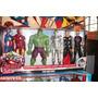 Muñecos Avengers 6 Pack Marvel Original Hasbro
