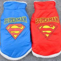 Capa P/ Cachorro Importada Forrada De Pêlo -estampa Superman