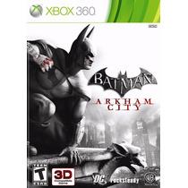 Batman Arkham City Xbox 360 Código (25 Digitos)