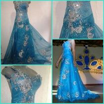 Vestido De Gala Para Concurso O Fiesta