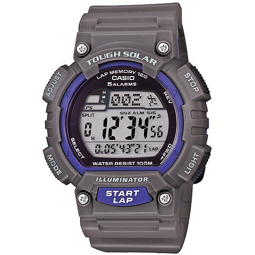 0f77c45072ae Reloj Casio Solar 120-vueltas Gris Para Hombre -   2