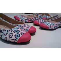 Ballerinas Chatitas Hermosas! Ultimo Disponible!! Talle: 39