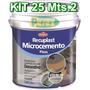 Recuplast Microcemento Alisado Kit Completo 25mt2 Sinteplast