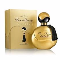 Perfume Avon Feminino Far Away Gold