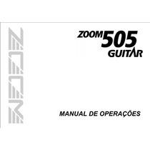 Manual Em Português Da Pedaleira Zoom 505.