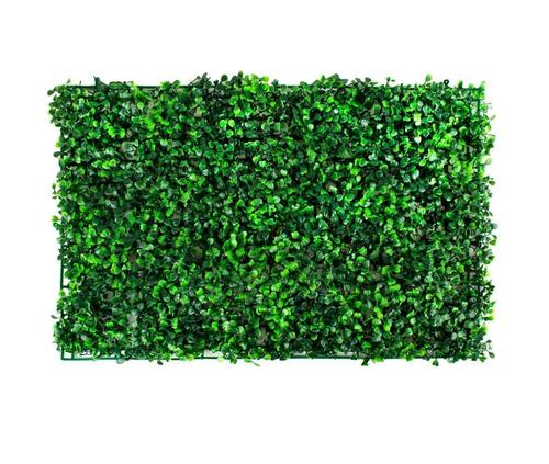 Follaje artificial muro verde jardin plantas 60x40 a0 for Jardin vertical mercadolibre