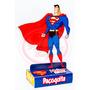30 Caixinhas Paçoquita Super Homem Personalizado Aniversário