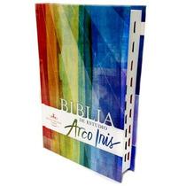 Biblia De Estudio Arco Iris Tapa Dura Indice Rvr60