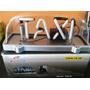 Aviso Taxi Súper Lujo Ledled