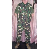 Pantalon Militares Camuflados De Gabardina Y Rebbstop Xxl,