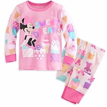 Minnie Mouse Pj Pals For Baby Pijama 0-3 M