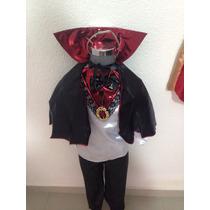 Disfraz Conde Draculadracula Vampiro Niños Halloween