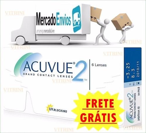 Lentes De Contato Acuvue 2 Johnson Promoção Frete Grátis - R  120,00 em  Mercado Livre 0452835ea4