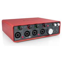 Interface Usb Focusrite Scarlett 18i8 Ideal Para Musicos