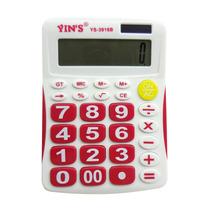 Calculadora De Mesa Yins 12 Dígitos Display Grande Escolar
