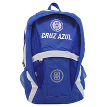 Mochila Juvenil Escolar Futbol Soccer Cruz Azul 7813-5