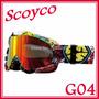 Lentes Moto Cross Scoyco Profesionales G04 S/169 Pegaso
