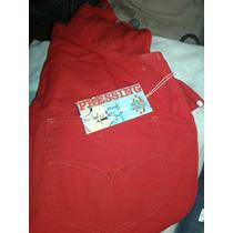 Jardinero Clásico Color Rojo Outlet Marca Presssing