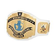 Coleccionable Blanco Campeonato Intercontinental De La Wwe