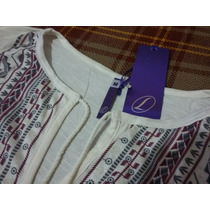 S/89 - Leonisa Camiseta Manga Larga Silueta Amplia Talla M