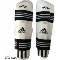 Espinillera Adidas Wtf Taekwondo