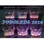 Vasos Cortos Led Luminoso Hora Loca Cotillon Fiesta Conciert