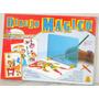 Dibujo Magico Unisex 12 Laminas Para Copiar Y Pintar