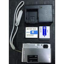 Camara Sony Cibershot Dsc-t77 10.1 Mp Con Acces 100%original
