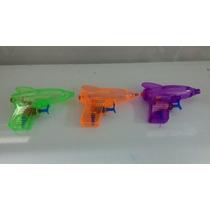 Pistola De Água De Plástico 11x10 Cm Kit Com 10 Peças