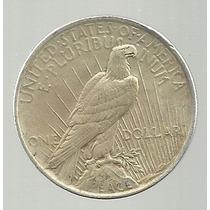Usa 1 Dolar 1923 Peace Plata