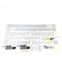 Decalque Faixa Adesiva Trator Valtra Valmet 88 Serie Prata
