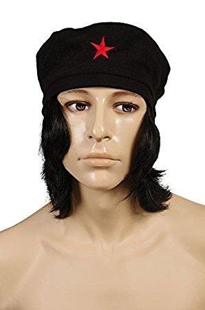 Peluca Boina Che Guevara Cotillon -   365 5c73530129d