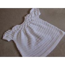 Vestido Manga Curta .casinha De Abelha De Bebê Menina