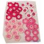 A Pedido Pack 20 Flores Tejidas Crochet Apliques