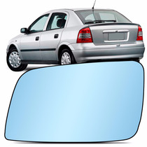 Lente Espelho Retrovisor Astra 99 A 11 Azul Esquerda Metagal