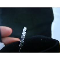 Aparador Ouro Branco 18k E 22 Diamantes Certificado Garantia