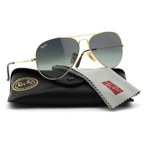 Ray Ban Aviator 3025 181/71 62 Gota Grande Grey Gradient