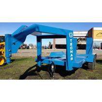 Trailer Carreton Tecnar Mod T6000 Cigueña P/ 6 Ton