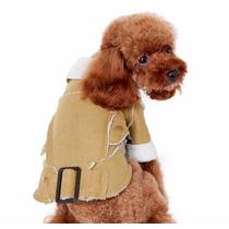 Casaco Pet Cães Pelego Musgo Inverno Barato Pronta Entrega